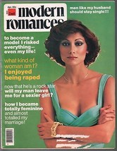 Modern Romances 4/1976-Dell-exploitation magazine-spicy pulp stories-pin... - $31.53