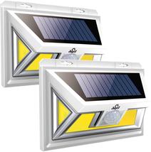 2 Pack 2 Motion Sensor Light Solar Waterproof Atomic Beam Sunblast 74 CO... - $26.93