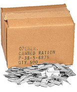 500 Pack P-38 Can Openers Wholesale US MIL-J-0837 Military P38 Army John... - $134.99