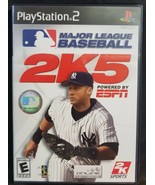 N) Major League Baseball 2K5 (Sony PlayStation 2, 2005) Video Game Derek... - £3.66 GBP