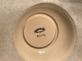 "Franciscan Desert Rose 8"" Round Vegetable Serving Bowl Arch California Stamp image 5"