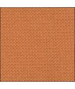 25ct Orange Lugana evenweave 36x27 cross stitch fabric Zweigart - $24.30
