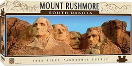 MasterPieces National Parks Panoramic Jigsaw Puzzle, Mount Rushmore, South Dakot - $21.73