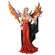 Pacific Giftware Golden Phoenix Rising Taking Flight with Mystical Witch... - $71.27