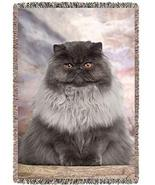 Persian Cat Woven Throw Blanket 54 x 38 - $107.91