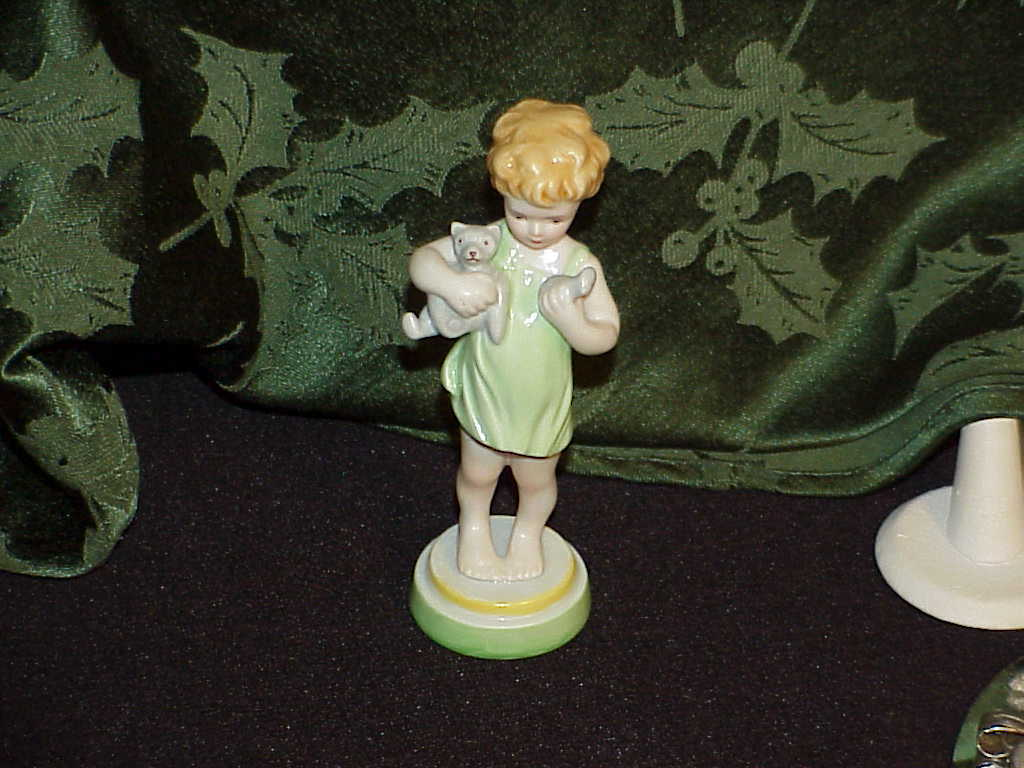 """Royal Worcester Fine Bone China Figurine Wednesday's Child Knows little Woe 5"""""""