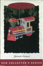 Hallmark Keepsake Ornament Yuletide Central Engine 1st in Series 1994 - $3.55
