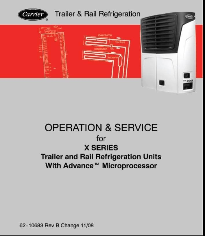 carrier transicold operation and service and 50 similar items rh bonanza com Carrier ManualsOnline Carrier 58MXA
