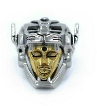 Han Cholo Silver & Gold Plated Surgical Stainless Steel Voltron Ring NEW
