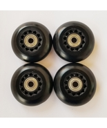 4-72mm Outdoor Inline Wheels with Abec-7 bearings rollerblade fitness ho... - $24.99