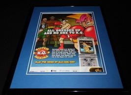 Super KO Boxing 2006 Framed 11x14 ORIGINAL Vintage Advertisement - $34.64