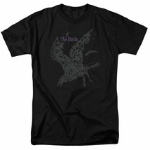 The Birds Alfred Hitchcock vintage horror-thriller movie graphic t-shirt UNI893 image 1