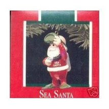 Hallmark Keepsake Ornament - Sea Santa - from 1989 - $9.38