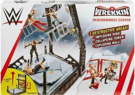 WWE Wrekkin Performance Center Playset - $44.64