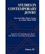 BRAND NEW Studies in Contemporary Jewry Volume III:Jews and Other Ethnic... - $143.55