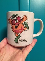 Vintage 70's BLOOP THE TROLL MAGIC MOUNTAIN Souvenir Mug Cup white - $17.82
