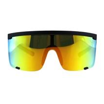 Super Oversized Goggle Sunglasses Unisex Fashion Square Mirror Lens UV 400 - $13.95