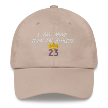 I Am More Than An Athlete Hat / King James / Basketball Dad hat image 12