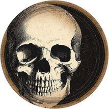 "Boneyard Skull Round Plates, 7"" - $11.87"