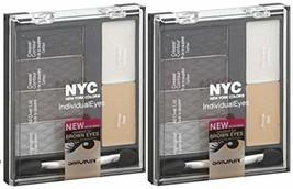 NYC #941 SMOKEY BROWNS New York Color Individual Eyes Shadow Compact (PA... - $29.39