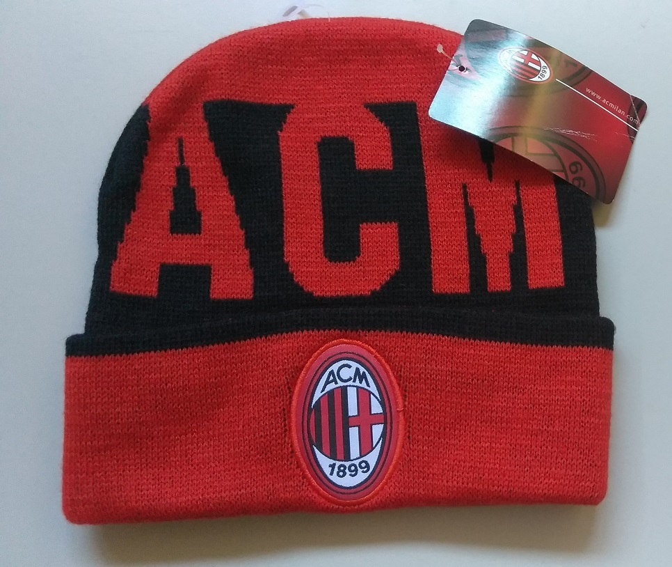 Primary image for Officially License Soccer Club European AC MILAN Soccer Beanie
