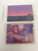 The Lion King Skybox Trading Card Packs Lot of 2 Packs Disney Sealed - $12.82