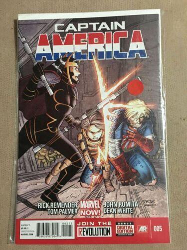 CAPTAIN AMERICA #005 #5 Marvel Comics Near Mint Comic Book
