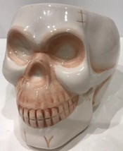 Royal Norfolk Vintage Halloween Skull Dish/Serving Bowl - $352,37 MXN