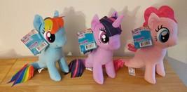 My Little Pony the Movie Pinkie Pie Twilight Sparkle Rainbow Dash Seapon... - $40.00