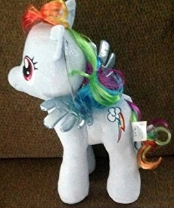 Primary image for Build a Bear Workshop, 16 in. RAINBOW DASH® My Little Pony Stuffed Animal