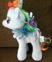 Build a Bear Workshop, 16 in. RAINBOW DASH® My Little Pony Stuffed Animal - $44.99