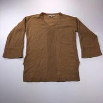 Ann Taylor LOFT Women's Small Brown 3/4 Sleeve Cardigan Sweater - $22.75