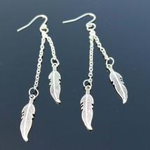Long Tassel Feather Drop Earrings Fashion Jewelry boucle d'oreille Women... - $20.00