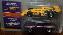 1996 Johnny Lightning Indianapolis 500 1974 2 Cars  Rutherford Cutlass Pace Car - $5.95
