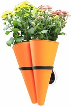 Hanging Planter Basket with Window Mount Suction Cup Accessory, Flower P... - $14.84