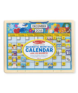 Melissa and Doug Monthly Magnetic Calendar Educational Toy 5058 - $12.61