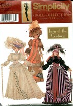 """Pattern Simplicity 0684 Doll Collector's Club 11.5"""" Doll Clothes Uncut U... - $16.00"""