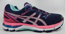 Asics GT 3000 v 4 Running Shoes Women's Size US 8 M (B) EU 39.5 Blue Pink T654N
