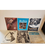Vintage Lot of Early 70's Hunting and Shooting Ephemera, Early 70's - $22.77
