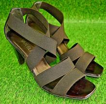 Van Eli Tara Women's Brown Heeled Sandals Size 7.5 M - $28.43