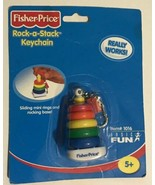 BNIP Fisher Price Rock a Stack Keychain - 2001 - $19.00