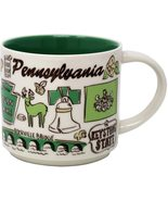 Starbucks 2018 Pennsylvania Been There Collection Coffee Mug NEW IN BOX - $41.98