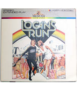 Logans Run Movie on Laserdisc Michael York Jenny Agutter Farrah Fawcett - $8.00