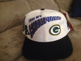 Vintage Green Bay Packers 1996 NFC Champions Sport Specialties Snapback Hat/Cap - $38.61
