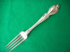 """Vintage Gorham STERLING Melrose Dinner Fork 7 3/4"""" 2 1/8"""" Tines - $117.76"""
