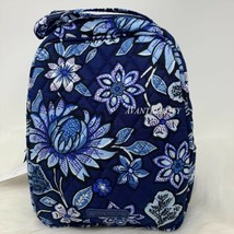 VERA BRADLEY LUNCH BUNCH BAG TROPICS TAPESTRY PATTERN NWT BLUE WHITE AUT... - $25.00