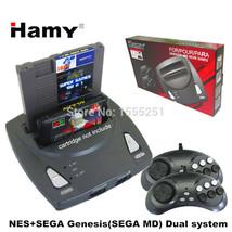 retro duo Sega Genesis Megadrive Nintendo NES console System Bundle like  - $53.93