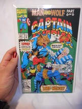 1992 Marvel Comics Captain America #407 Comic Man & Wolf Part 6 of 6 VF - $1.99