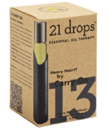 21 Drops CARRY On  Essential Oil Blend  #13 Carry On Heavy Heart  New - $18.91
