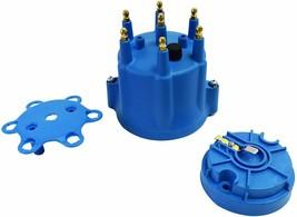 Pro Series Distributor Cap & Rotor Kit 6-Cylinder Blue image 2